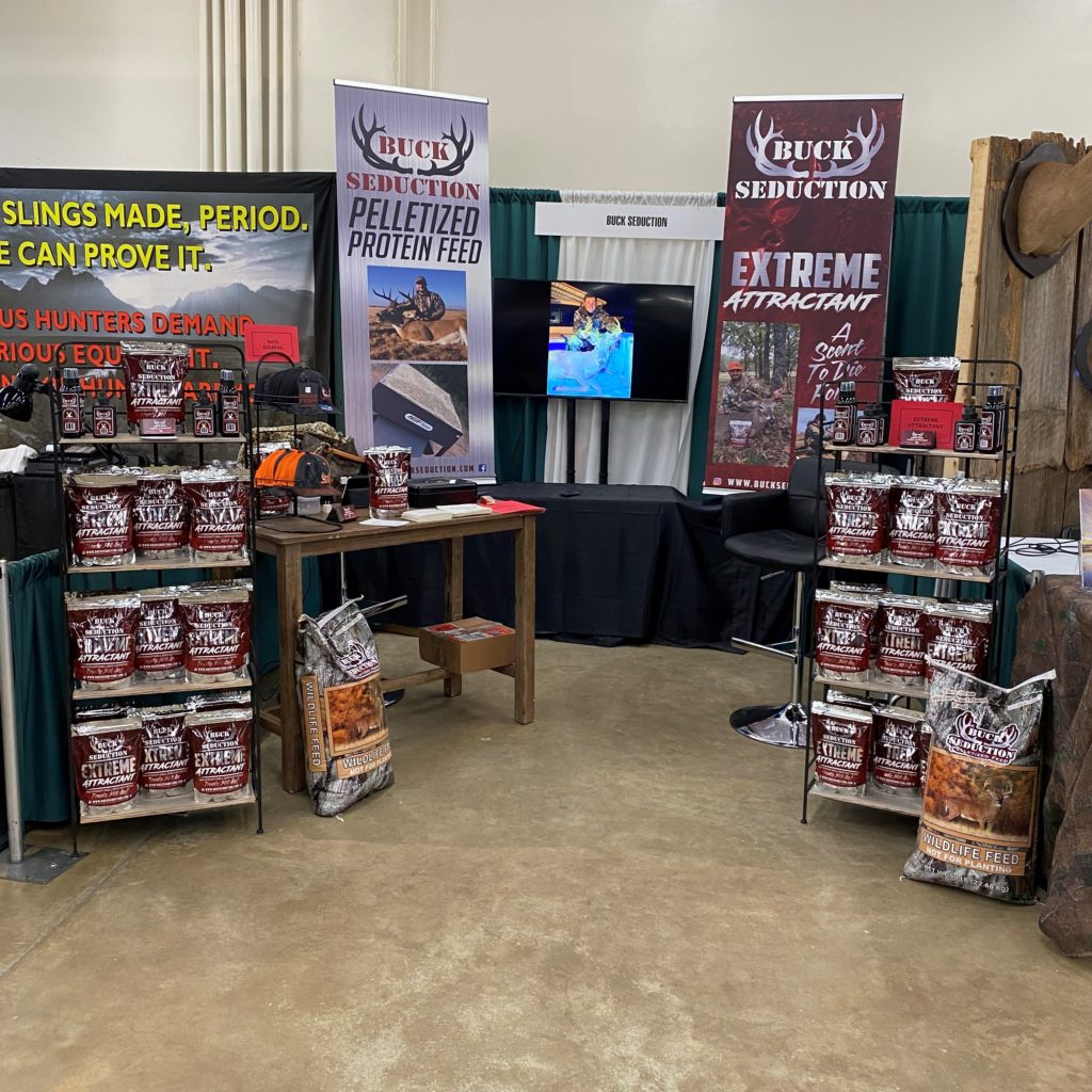 Buck Seduction Trade Show Booth